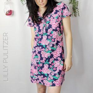 LILLY PULITZER Carolyn dress short sleeve floral